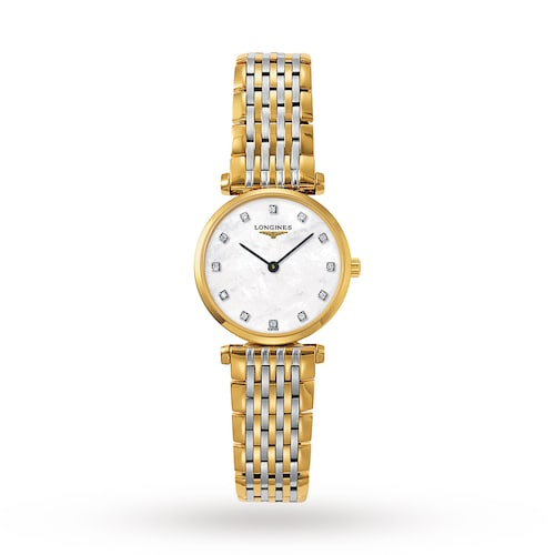 La Grande Classique de Longines 24mm Diamond Dot Quartz Ladies Watch
