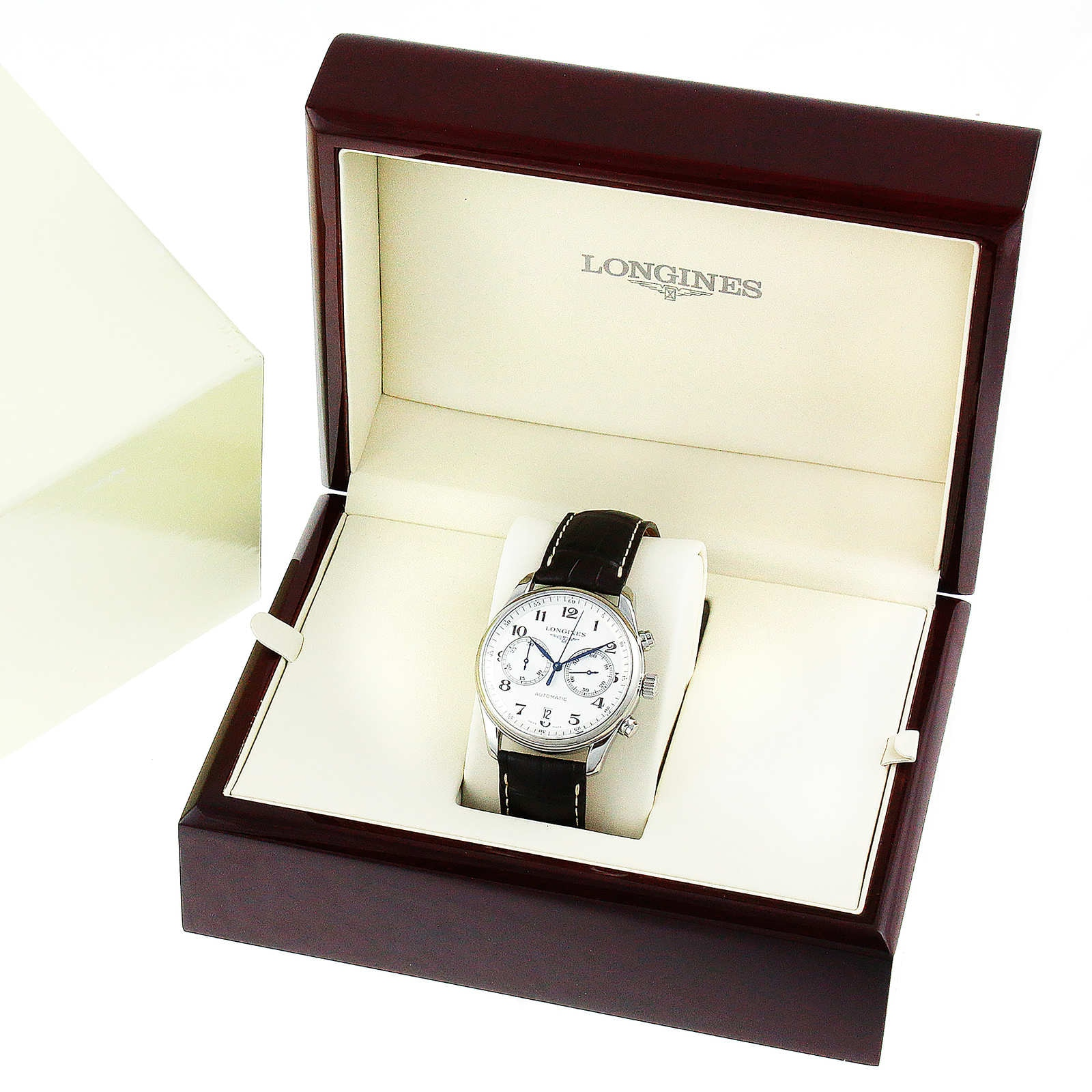 Longines Master Collection 40mm Automatic Chronograph Mens Watch