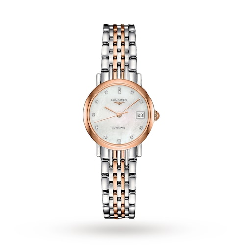 Elegant Collection 25.5mm Diamond Automatic Ladies Watch