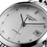 Longines Elegant Collection 25.5mm Diamond Automatic Ladies Watch