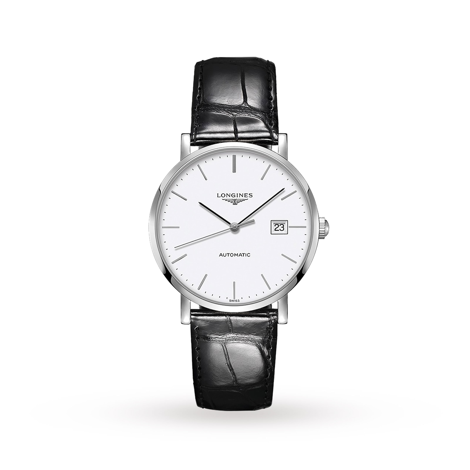 Longines Elegant Collection 39mm Automatic Mens Watch