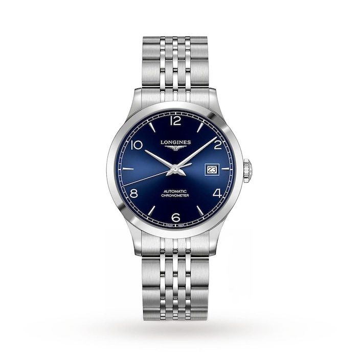 Longines Record 38.5mm COSC Automatic Mens Watch