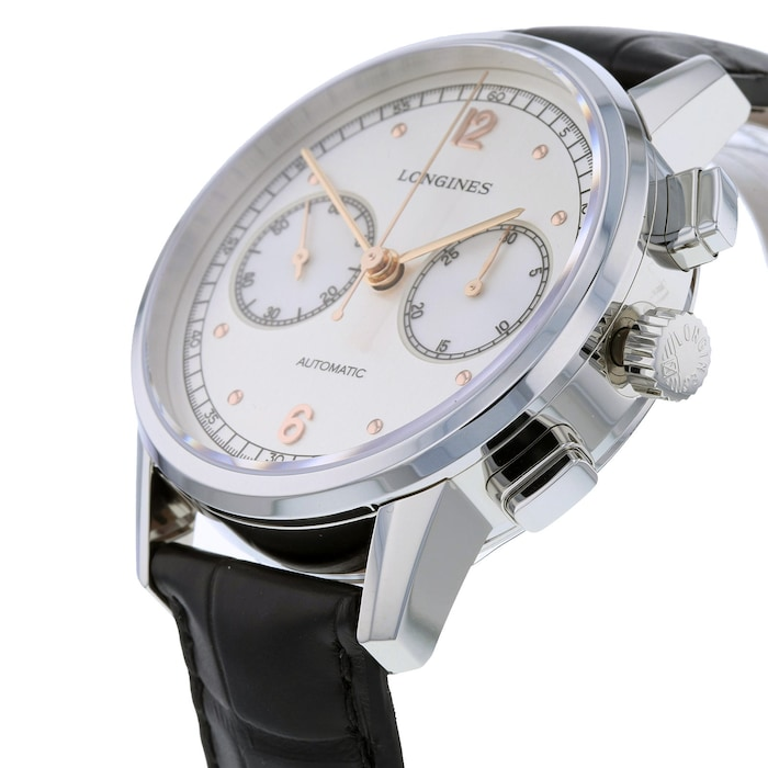 Longines Heritage Chronograph 1940 41mm Automatic Mens Watch