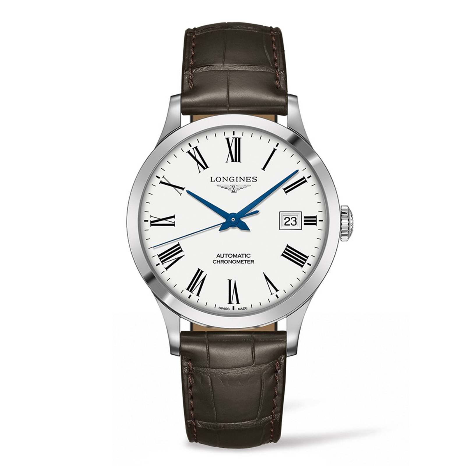 Longines Record 40mm Mens Watch