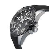 Longines All-black Ceramic Hydroconquest 43mm Automatic Mens Watch