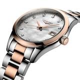 Longines Conquest Classic 34mm Ladies Watch