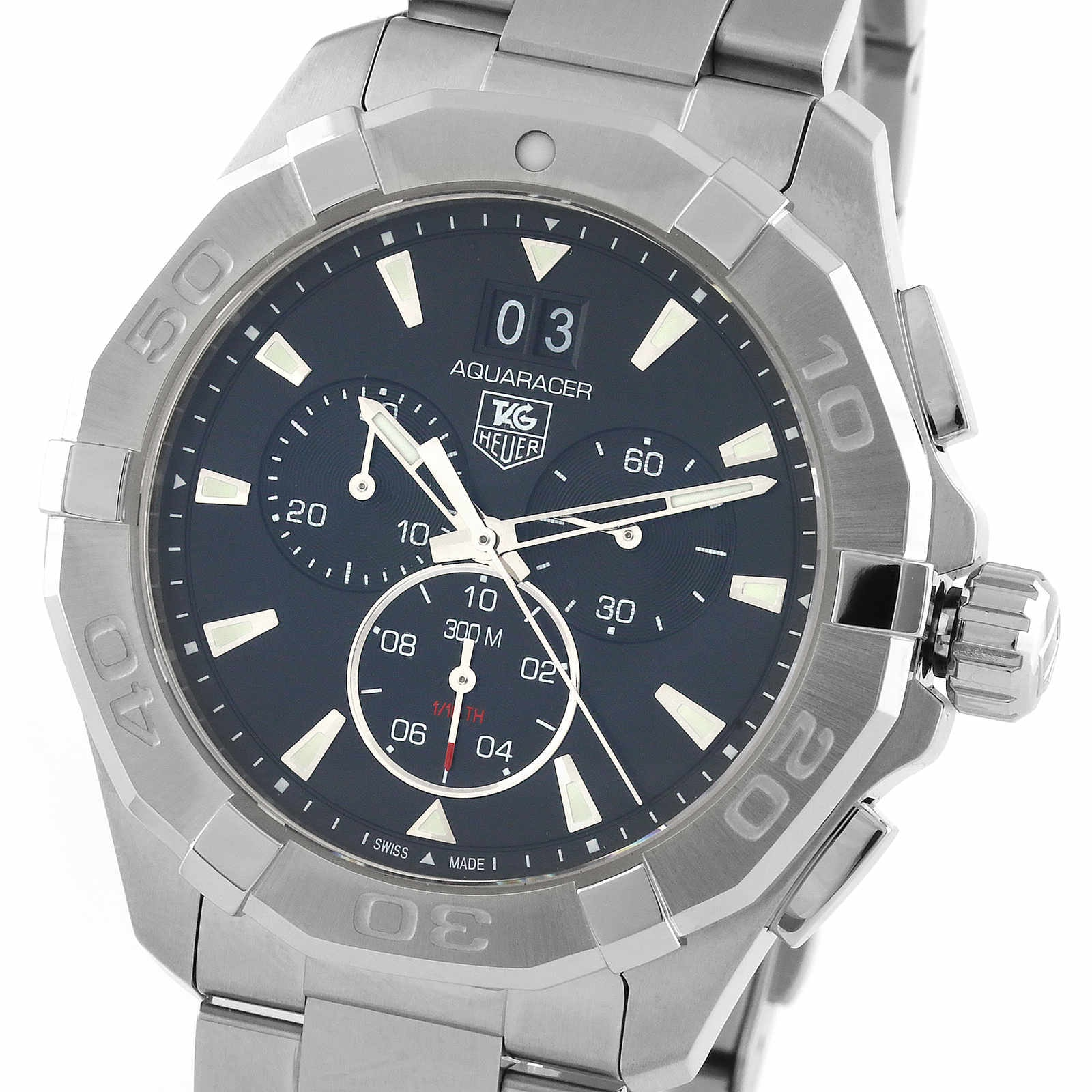 TAG Heuer Aquaracer 43mm Quartz Chronograph Mens Watch
