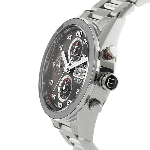Carrera Calibre 16 43mm Automatic Day-Date Mens Watch