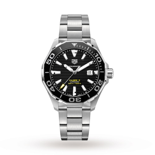 Aquaracer 300M Calibre 5 43mm Ceramic Bezel Mens Watch