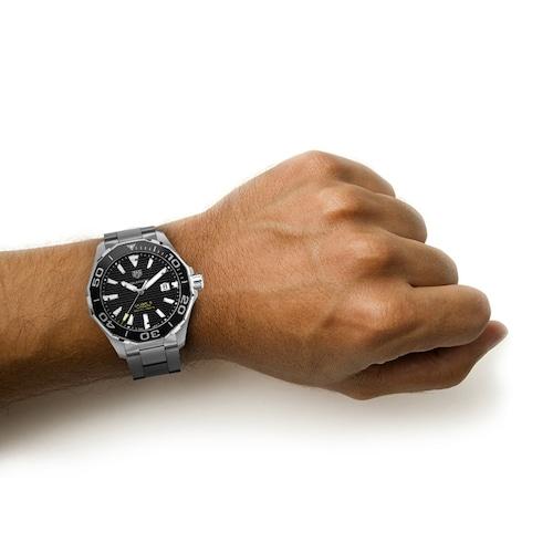 Aquaracer 300M Calibre 5 43mm Ceramic Bezel Mens Watch