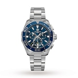 Aquaracer 300M 43mm Quartz Chronograph Mens Watch