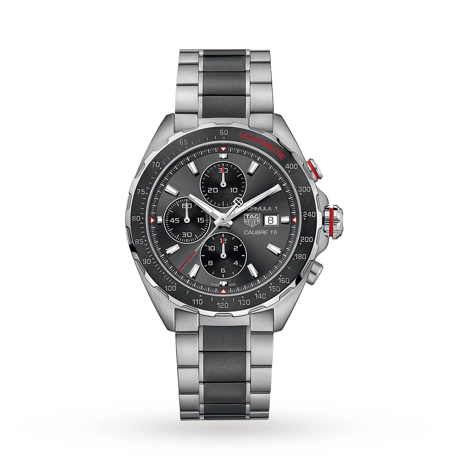 TAG Heuer Formula 1 Calibre 16 44mm Automatic Chronograph Mens Watch