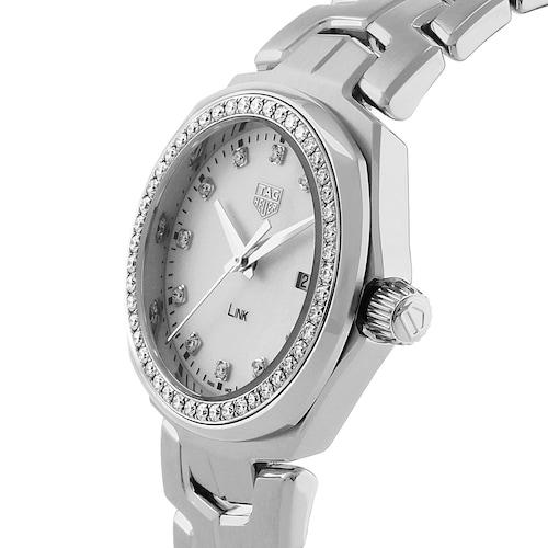 Link 32mm Diamond Bezel Ladies Watch