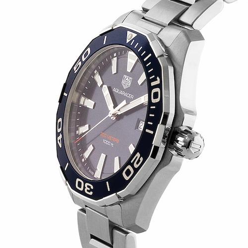 Aquaracer 300M 43mm Quartz Mens Watch