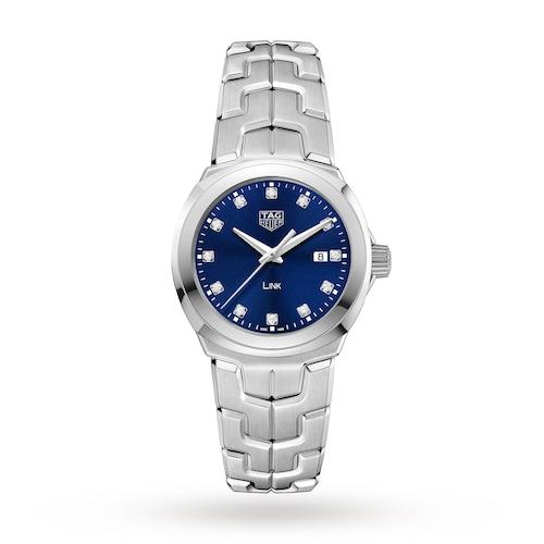 Link 32mm Quartz Date Ladies Watch