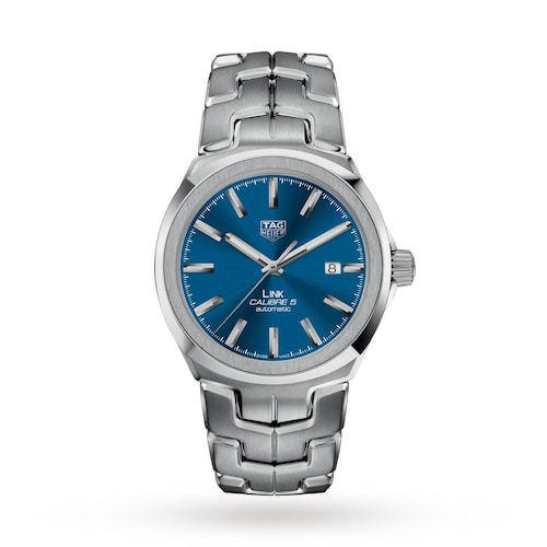 Link Calibre 5 41mm Automatic Date Mens Watch