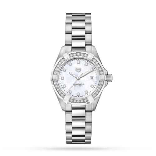 Aquaracer 27mm Diamond Ladies Watch
