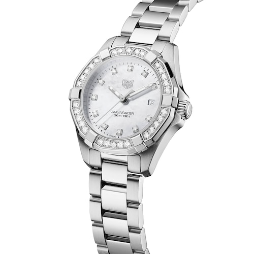 Aquaracer 27mm Diamond Ladies Watch