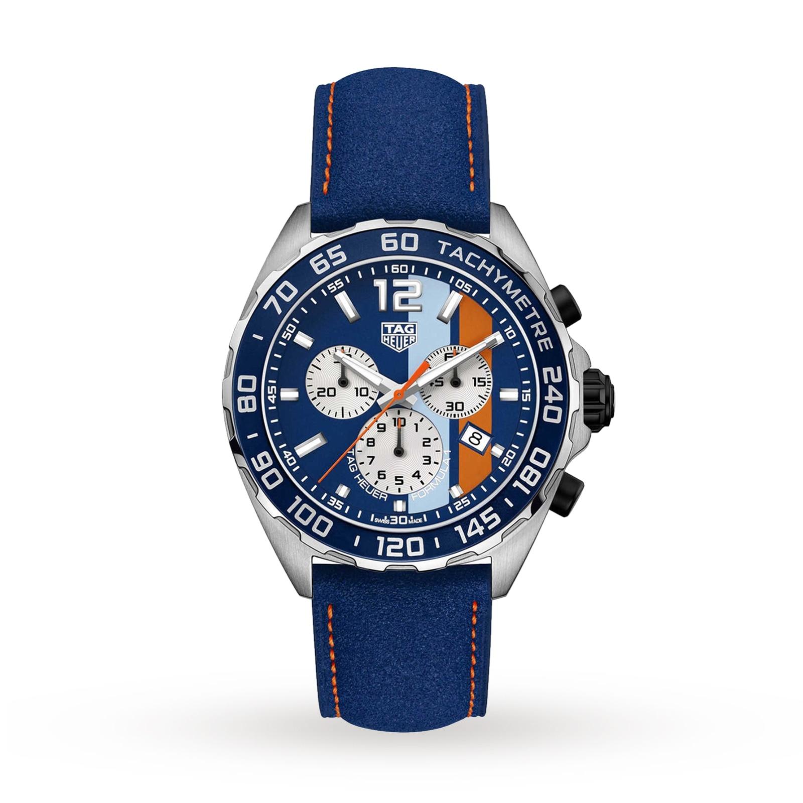 TAG Heuer Formula 1 Gulf Chronograph Special Edition Mens Watch
