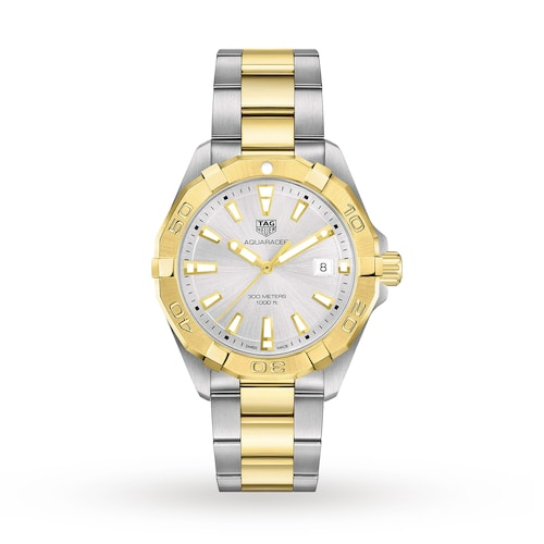 Aquaracer 300M 41mm Quartz Mens Watch