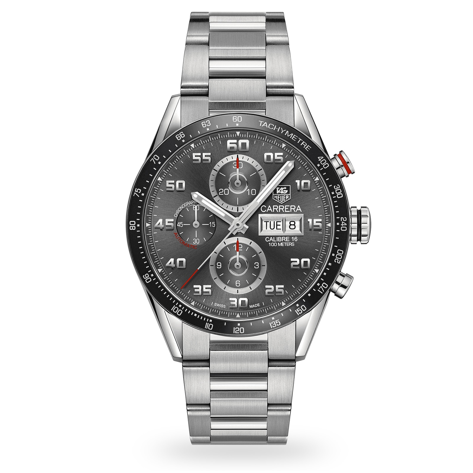 TAG Heuer Carrera Calibre 16 Automatic Mens Watch
