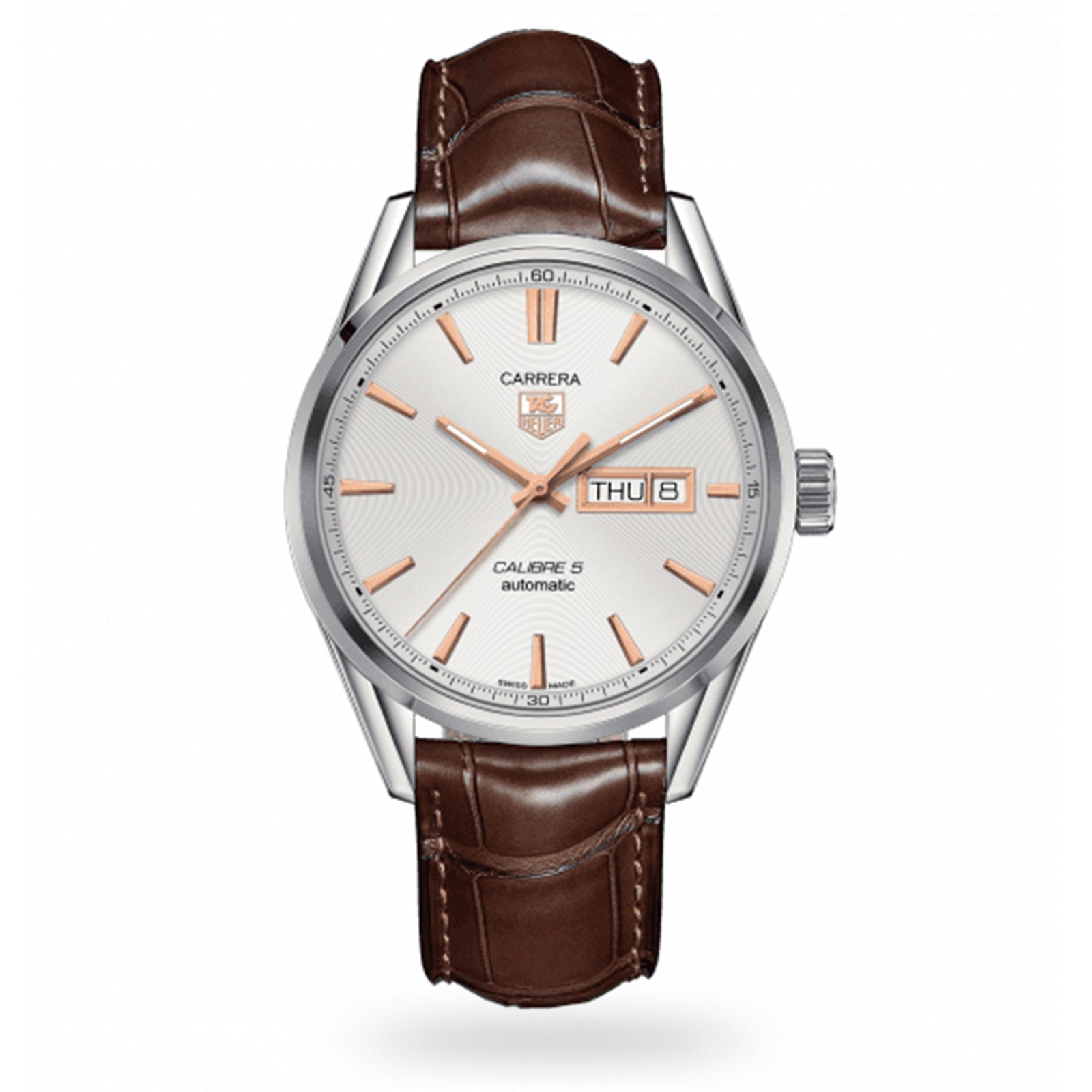 TAG Heuer Carrera Calibre 5 Day-Date Mens Watch