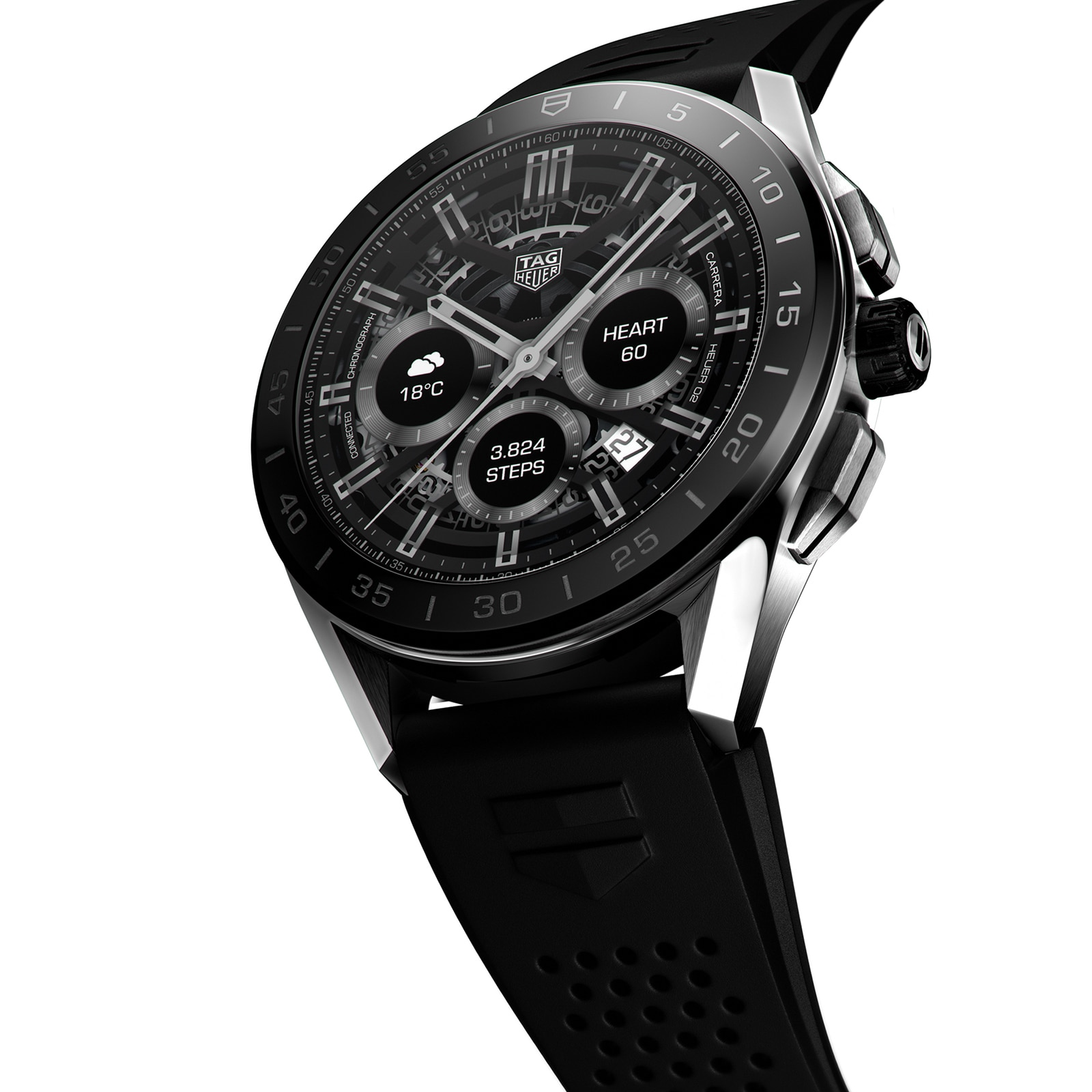 TAG Heuer Connected 45mm Watch SBG8A10.BT6219