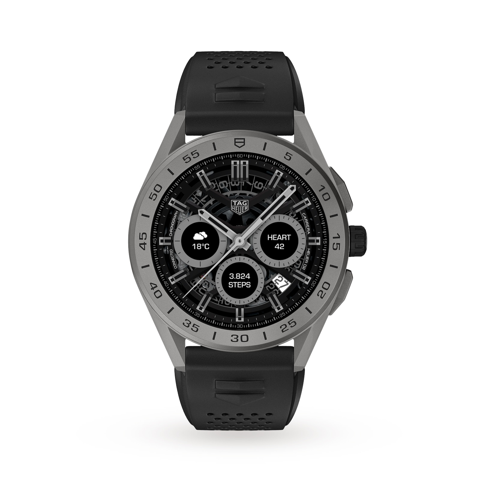TAG Heuer Connected 2020 45mm Watch SBG8A81.BT6222