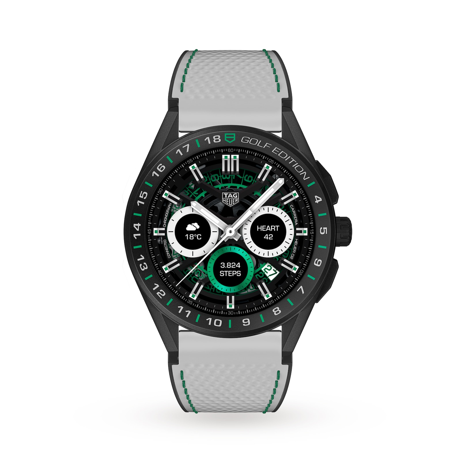 TAG Heuer Connected Golf 45mm Watch SBG8A82.EB0206
