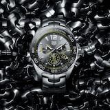 TAG Heuer Special Edition Formula 1 Senna Quartz Chronograph 43mm Mens Watch