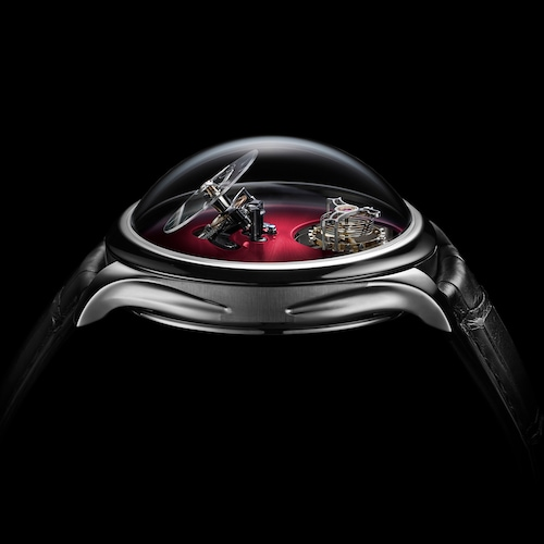 Endeavour Cylindrical Tourbillon Burgundy