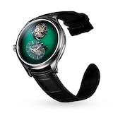 H. Moser & Cie Endeavour Cylindrical Tourbillon Cosmic Green