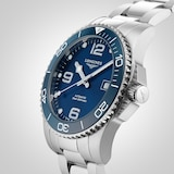 Longines HydroConquest Ceramic Blue Dial 41mm Automatic Diving Mens Watch