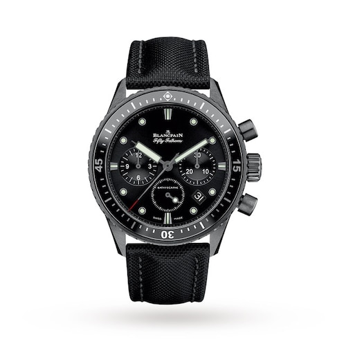 Blancpain Fifty Fathoms Bathyscaphe Chronographe Flyback 5200-0130-B52A