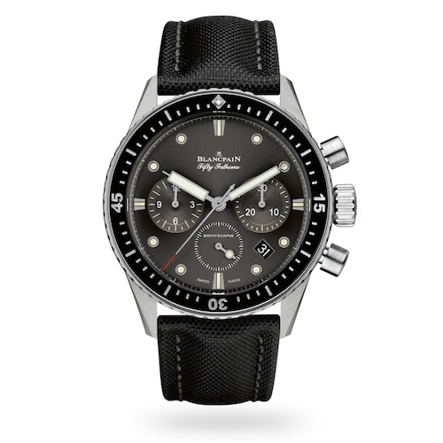 Blancpain Fifty Fathoms Bathyscaphe Chronographe Flyback 5200-1110-B52A