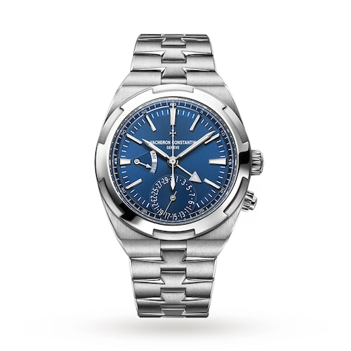 Overseas Dual Time Mens Watch