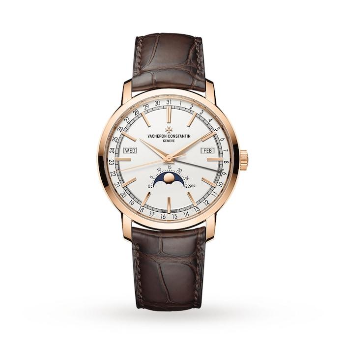 Vacheron Constantin Traditionnelle Complete Calendar Mens Watch