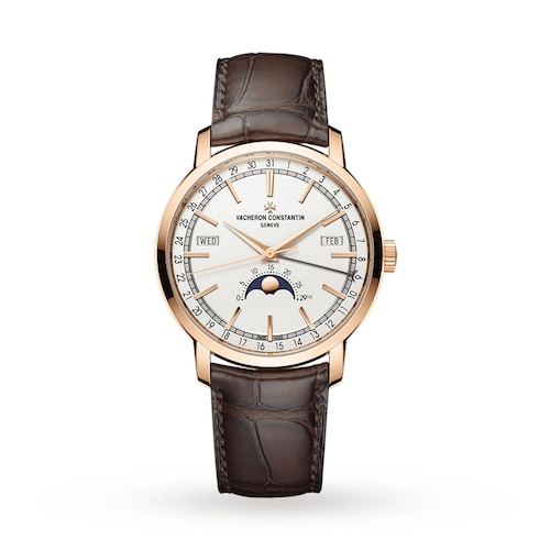 Traditionnelle Complete Calendar Mens Watch
