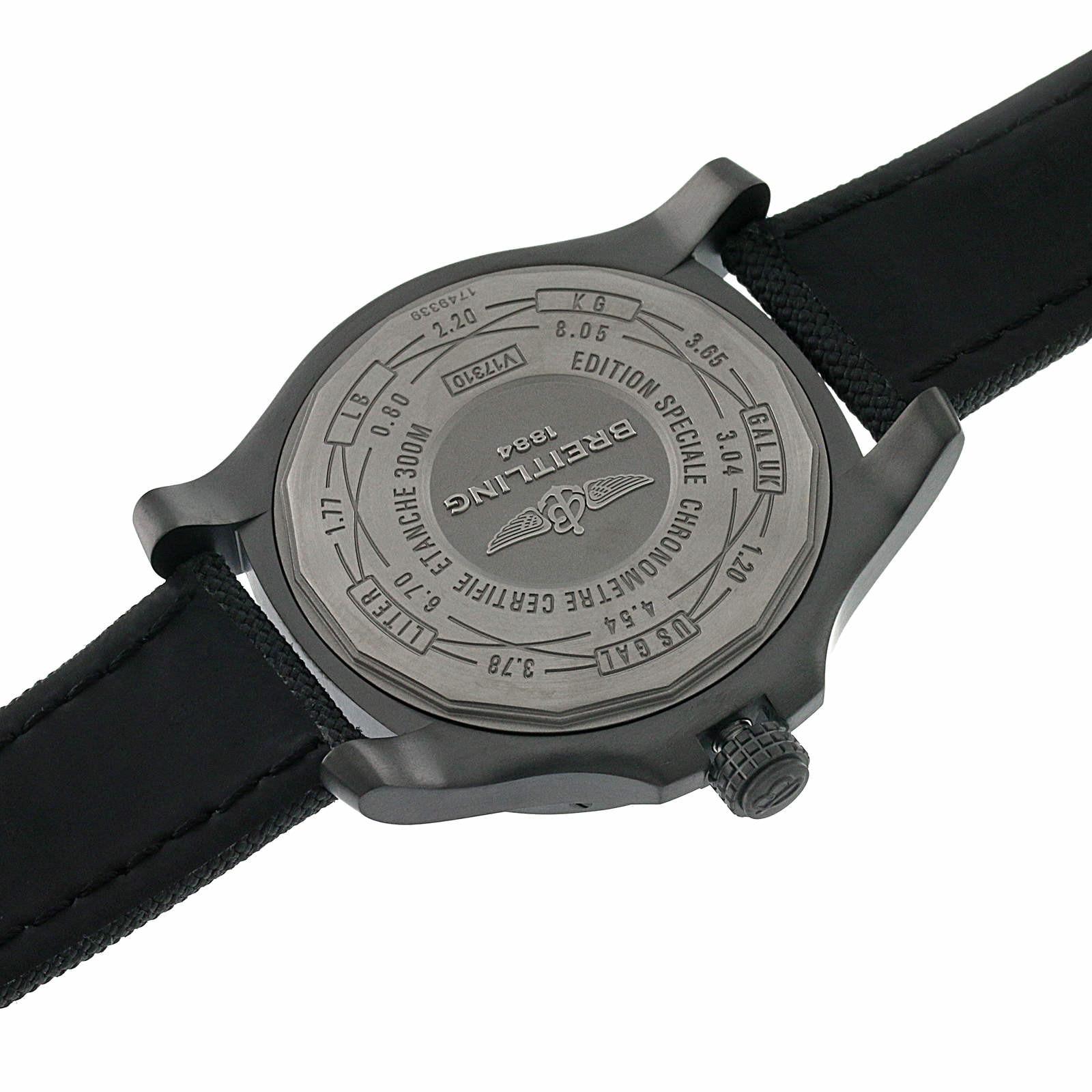 Breitling Avenger Blackbird Mens Watch
