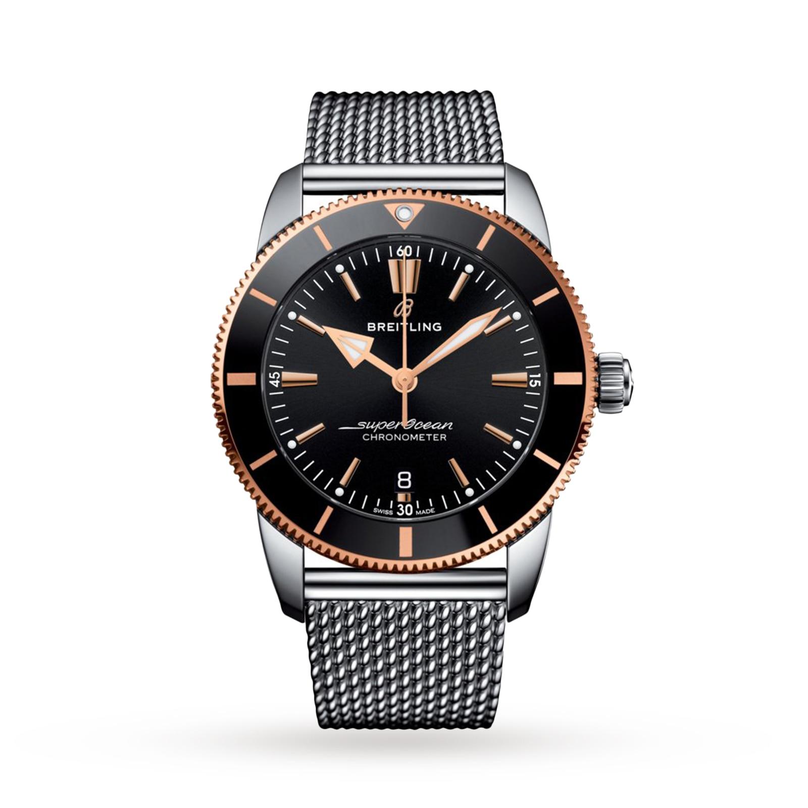 Breitling Superocean Heritage II B20 Automatic 44 Mens Watch