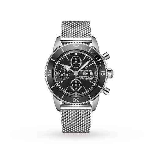 Superocean Heritage II Chronograph Mens Watch 44