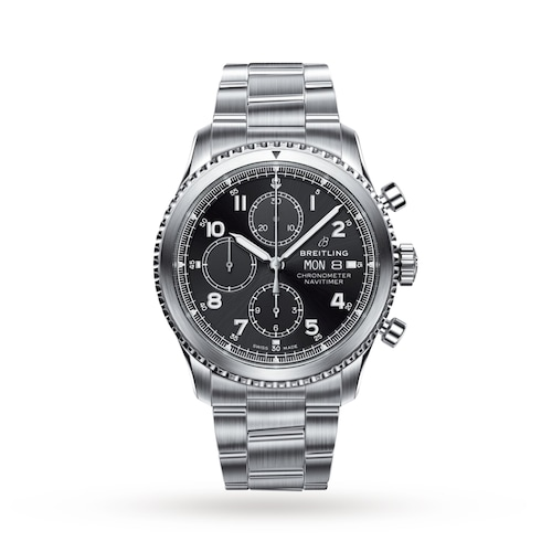 Aviator 8 Chronograph 43 Automatic Mens Watch