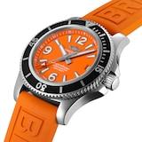 Breitling Superocean Automatic 36 Steel Orange
