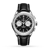 Breitling Premier B01 Chronograph 42 Stainless Steel - Black