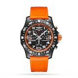 Breitling Endurance Pro 44mm Mens Watch Orange