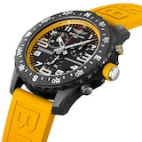 Breitling Endurance Pro 44mm Mens Watch Yellow