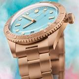 Oris Cotton Candy Blue 38mm Ladies Watch