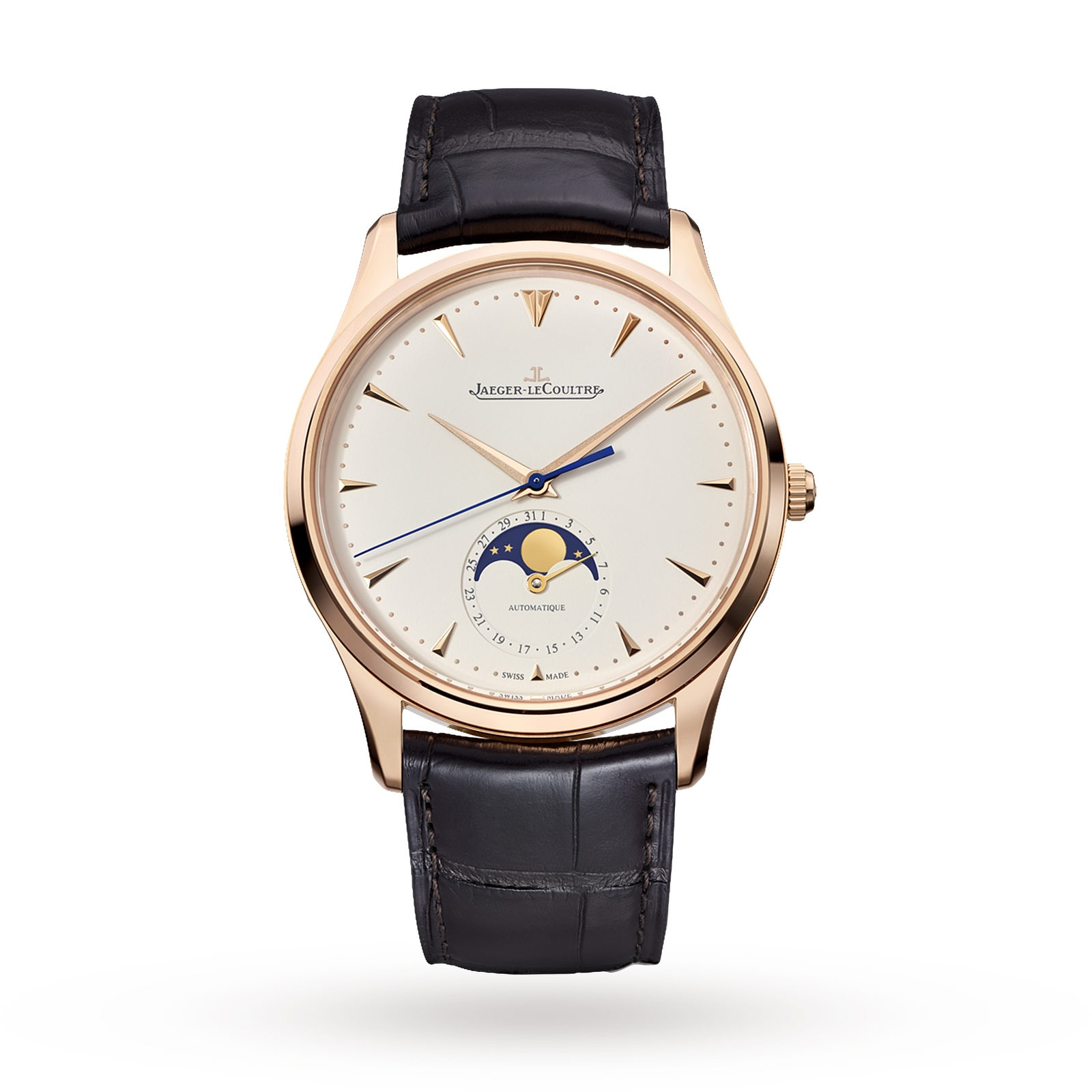 Jaeger-LeCoultre Master Ultra Thin 39 Moon Mens Watch