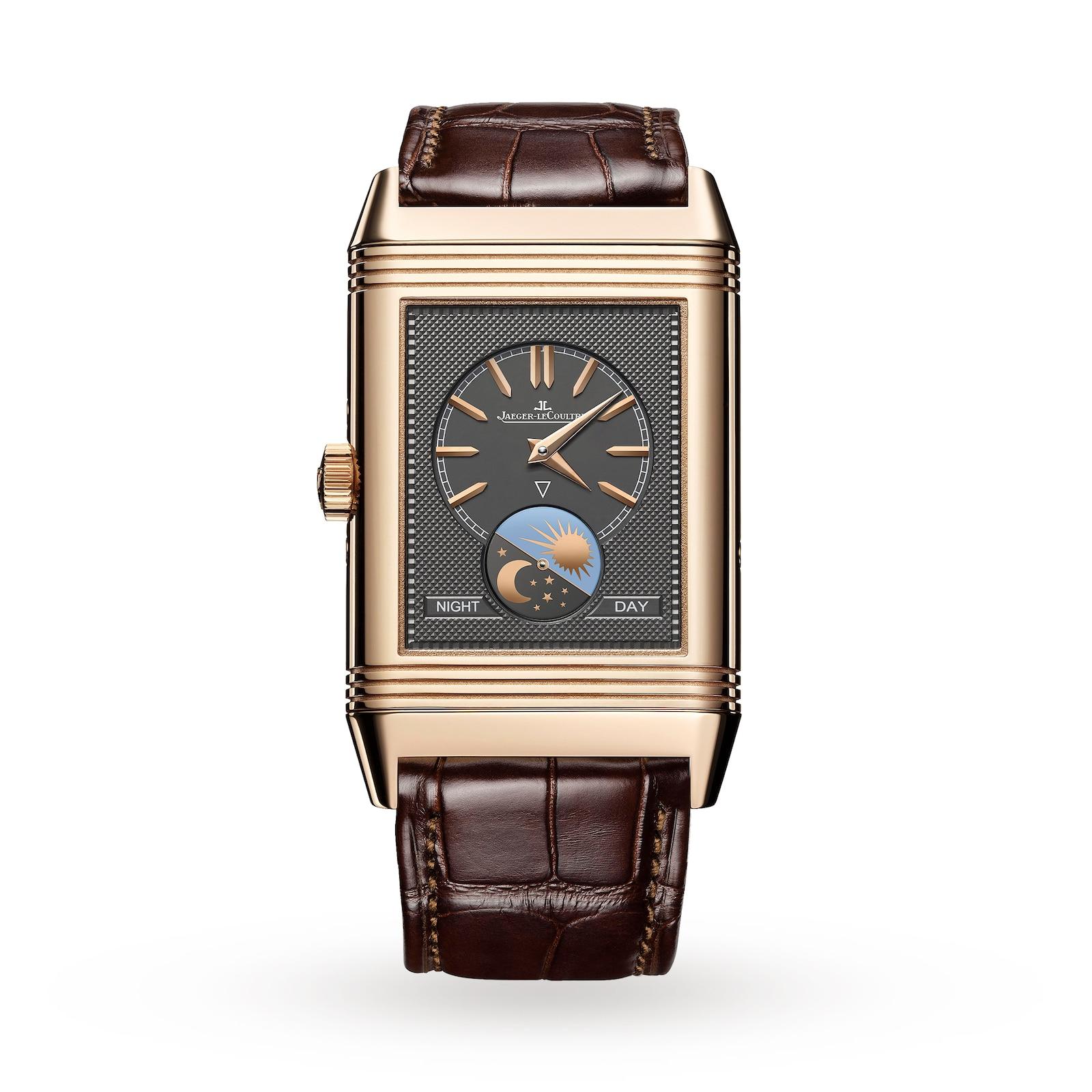 Jaeger-LeCoultre Reverso Tribute Calendar Mens Watch
