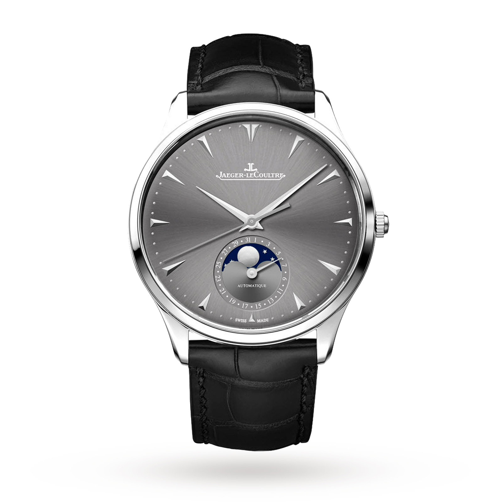 Jaeger-LeCoultre Master Ultra Thin Moon Mens Watch